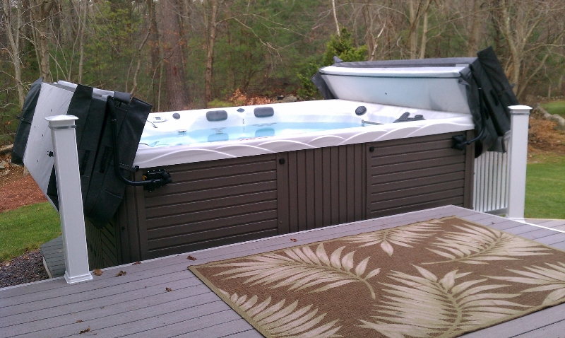 Custom Swim Spa Installation