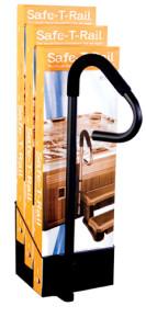 Safe-T-Rail Display