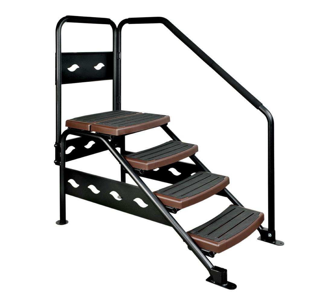 swim fitness swim spa steps swim fitness. Black Bedroom Furniture Sets. Home Design Ideas