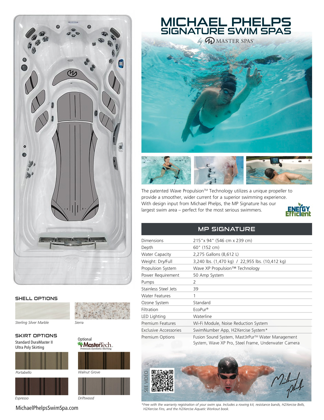 MP Momentum Swim Spa